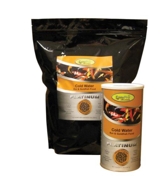 EasyPro Platinum Koi & Goldfish Food - Cold Weather Food, 5lb bag
