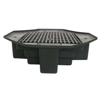 "FBL48 Eco-Series 48"" lightweight basin with bench grating"