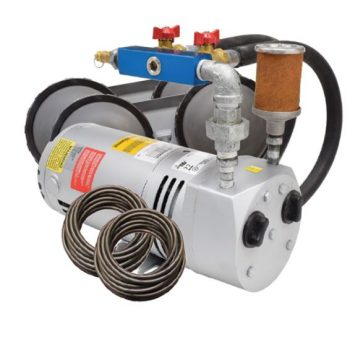 PA50 Rotary Vane Pond Aeration System- 1/4 HP Kit with Poly Tubing