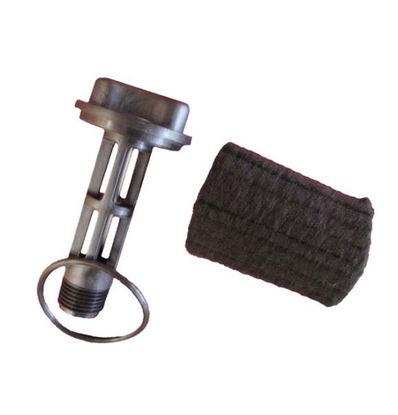 Black Plug for Rotary Vane units