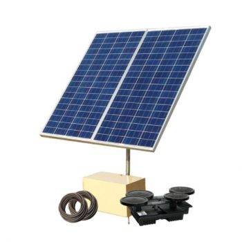 SAS300 Solar Aeration System – Up to 3 Acres – Battery Free System