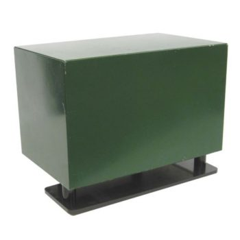 """Steel SC18 Cabinet with 115volt fan and Ground mount; 11 1/2"""" x 18"""" x 14 1/2"""""""