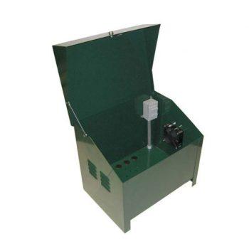 "Deluxe Lockable Steel Cabinet; 115 volt; 16.5W x 22"" L x 19"" H"